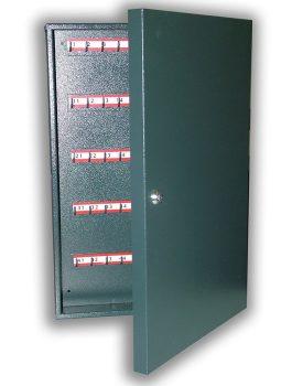 K-50 hajlított kivitelű kulcsszekrény