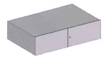 Belső rekesz (180 mm magas) 6-9 méretű páncélszekrényekhez