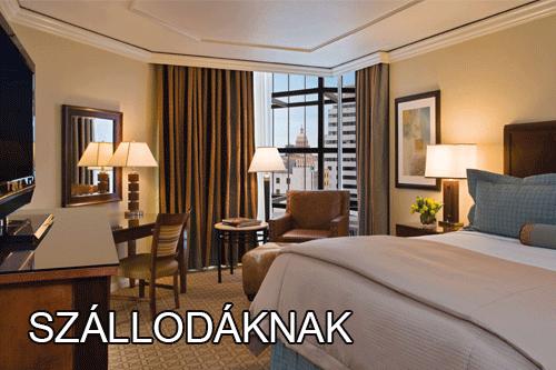 szállodáknak